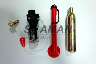 Clip oral del tubo de la base de la válvula de los accesorios del chaleco salvavidas del dispositivo automático del equipo del rearmamento